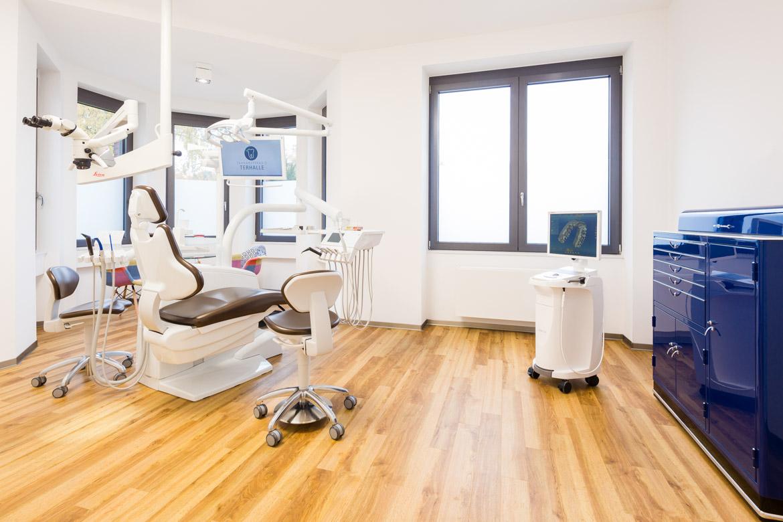 Praxisfotografie Behandlungszimmer